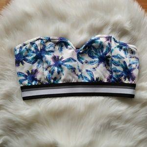 Bikini crop top bra bandeau
